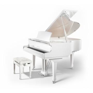 Pearl River P9 Grand Piano (White Polish)