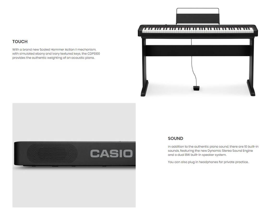 Casio CDPS100