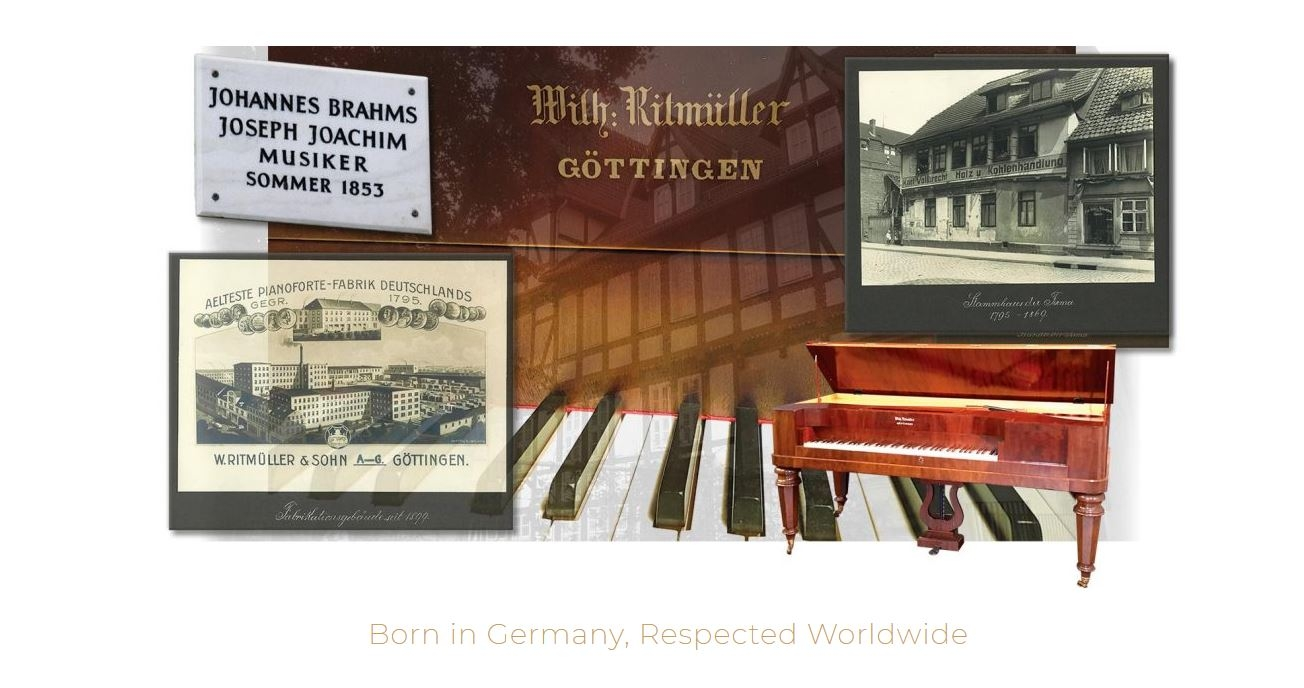 Ritmuller Piano Born in Germany