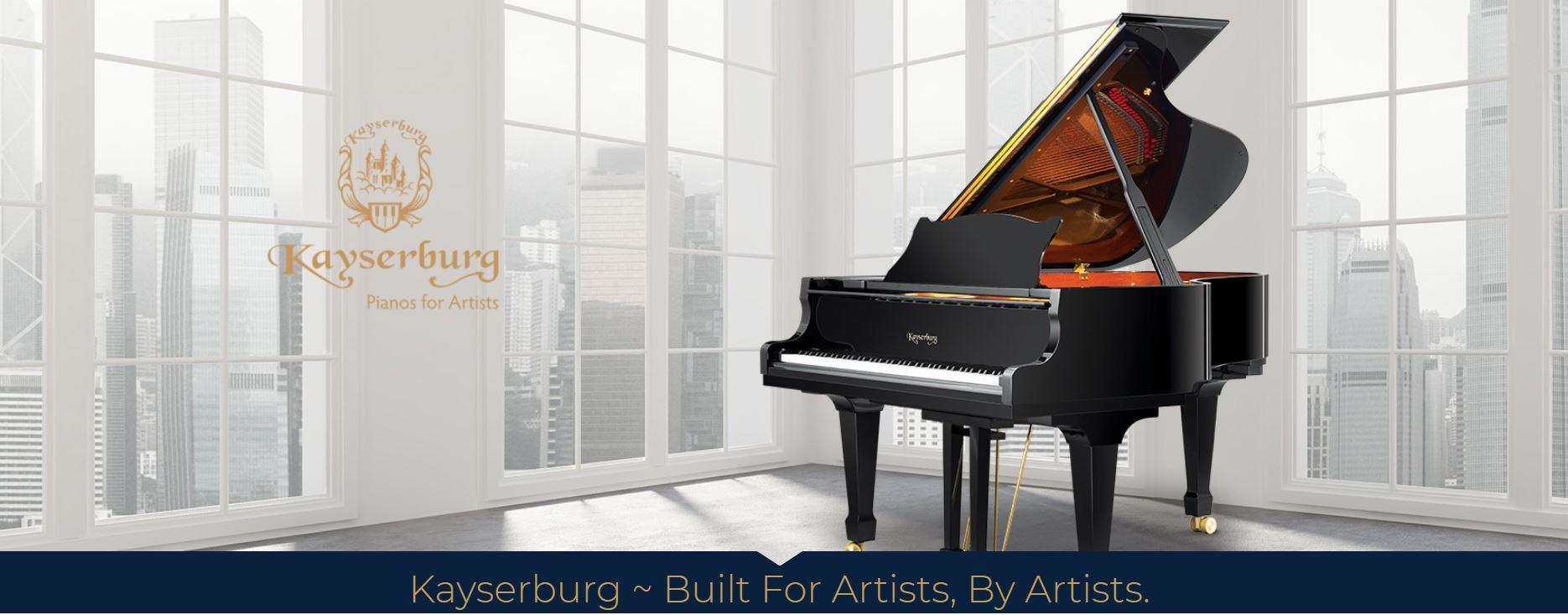 Kayserburg Artist Grand Piano