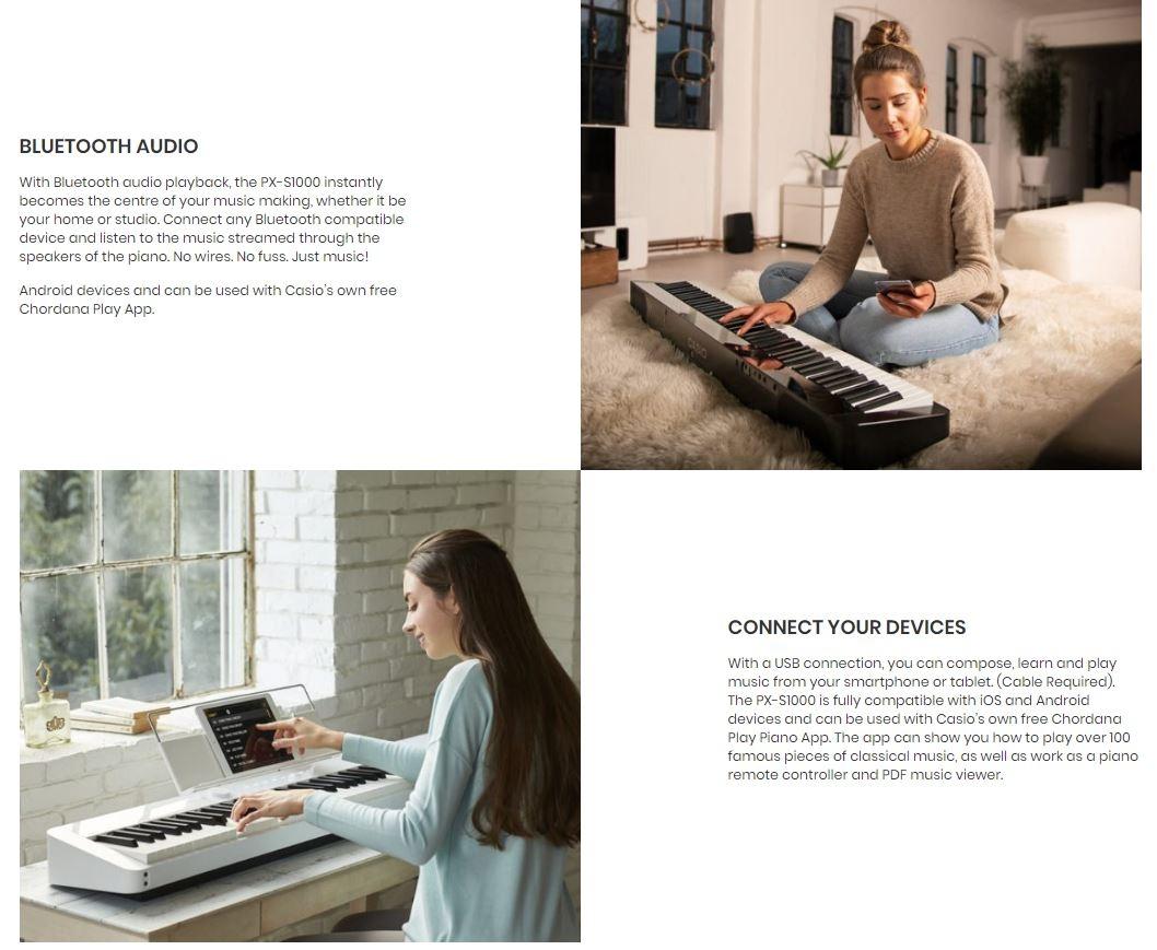 Casio PXS1000BK/WE/RD